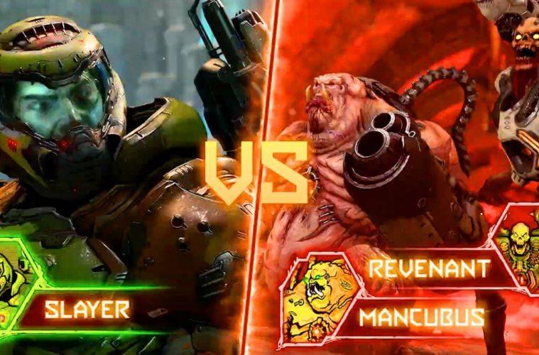 """Doom Everlasting's Slayer Vs Demon Multiplayer """"Battle Mode"""" Detailed"""